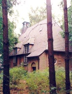 Waldkapelle Hessenwinkel in Berliner Forst